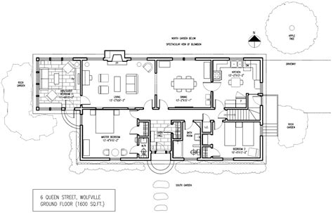 rental property floor plans the floor plan of mccormack house vacation rental wolfville scotia