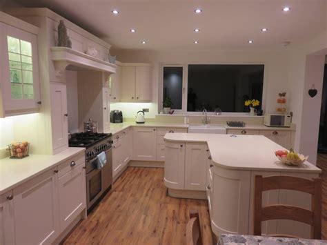 ivory shaker kitchens beautiful ivory beautiful ivory painted solid wood oak shaker kitchen in hagley