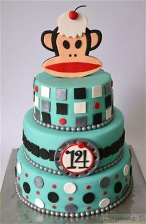 paul frank party ideas  pinterest paul frank monkey cakes  monkey cookies