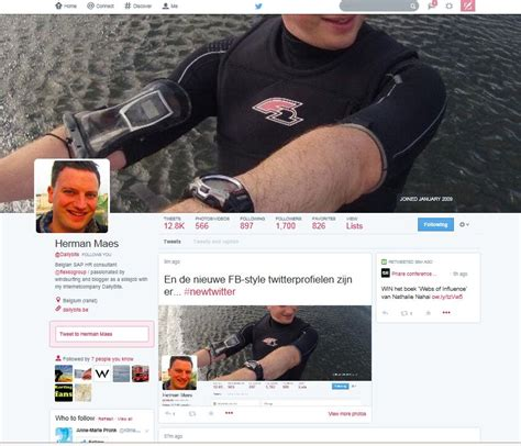 nieuwe layout twitter nieuwe twitter facebook style is live by dailybits