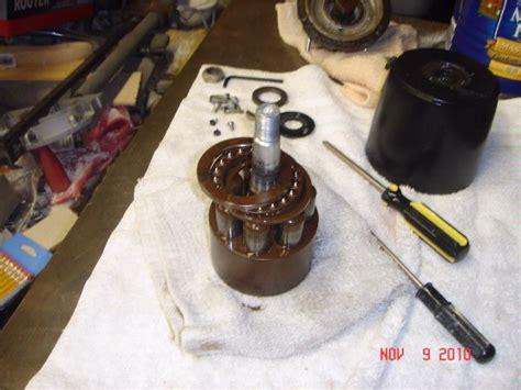 boat hydraulic steering rebuild seastar steering helm pump rebuild with pics the hull