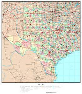 Texas Map State by Texas Political Map