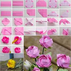 Vase Decor Pinterest How To Diy Pretty Origami Rose