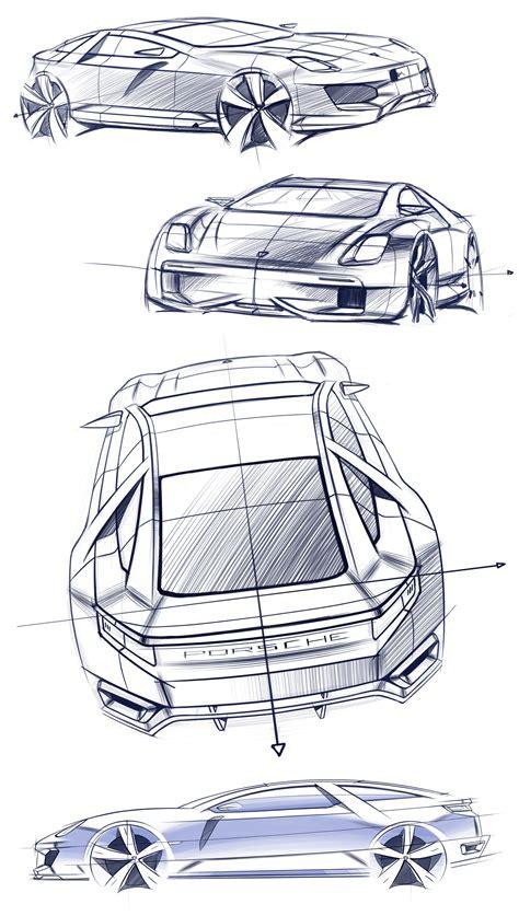 porsche concept sketch porsche 929 by tigran lalayan at coroflot com
