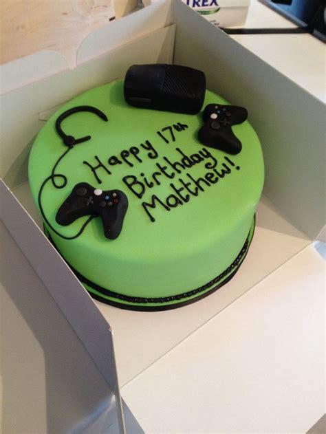 xbox themed birthday cake xbox cake my cakes pinterest