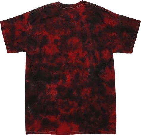 punisher drip logo tie dye t shirt