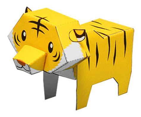 How To Make A Paper Tiger - zones retro childrentoys arensexy