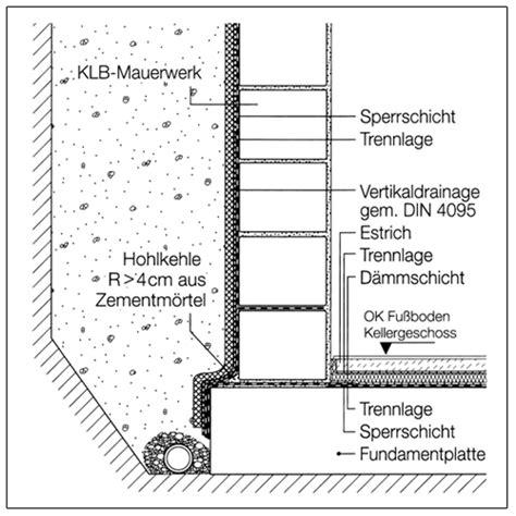Horizontale Abdichtung Mauerwerk by Kellermauerwerk Und Abdichtung Klb