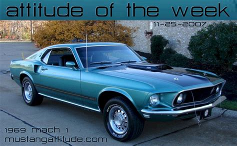 silver jade green 1969 mach 1 ford mustang fastback mustangattitude photo detail