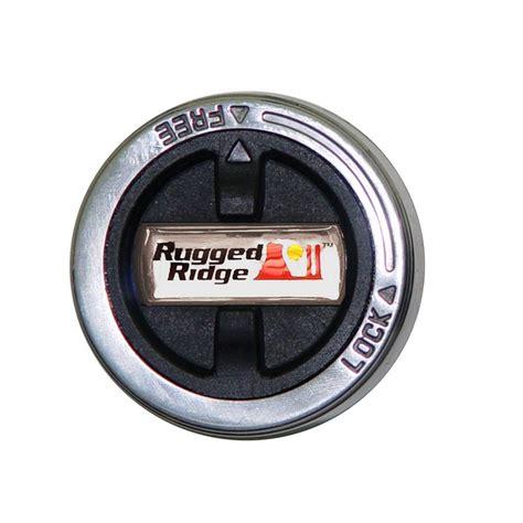 rugged ridge 15001 70 15001 70 manual locking hub pair ranger 98 00 and mazda b3000 b4000 01 08