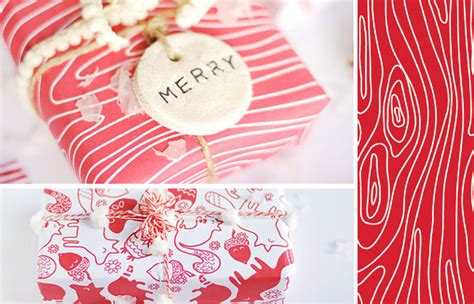 creative printable wrapping paper 15 creative diy gift wrap ideas the dieline packaging
