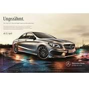 """Start F&252r Die Mercedes CLA Werbekampagne """"Ungez&228hmt"""""""