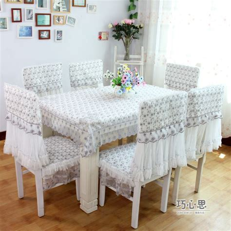 Dining Table Chair Seat Covers Aliexpress Buy 2012 Dining Table Cloth Cushion Chair Cover Rustic Fabric Embroidered Lace