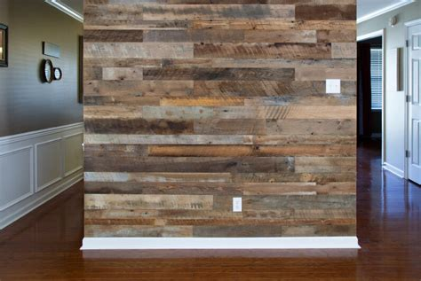 wood accent wall home versawood