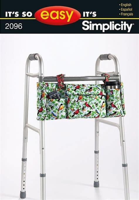 free pattern walker bag walker bag pattern free simplicity 2096 walker