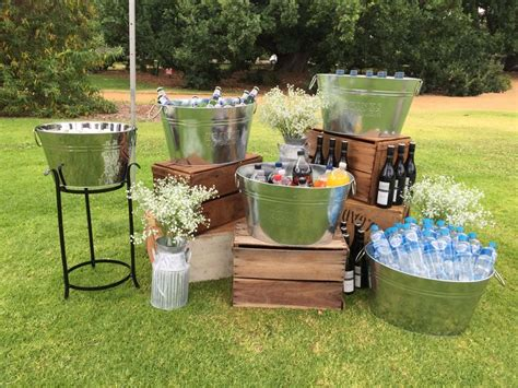 outdoor party ideas 25 best ideas about drink station wedding on pinterest