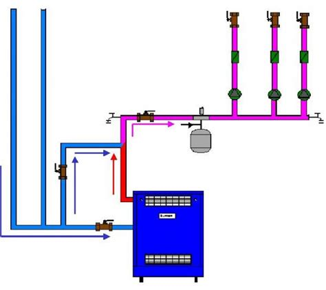 boiler piping diagram boiler bypass piping doityourself community forums