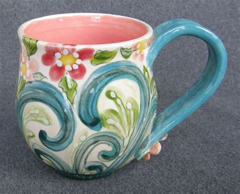 pottery painting 25 unique painted mugs ideas on painted