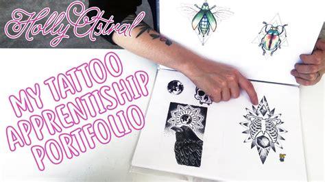 tattoo apprentice portfolio my apprenticeship portfolio