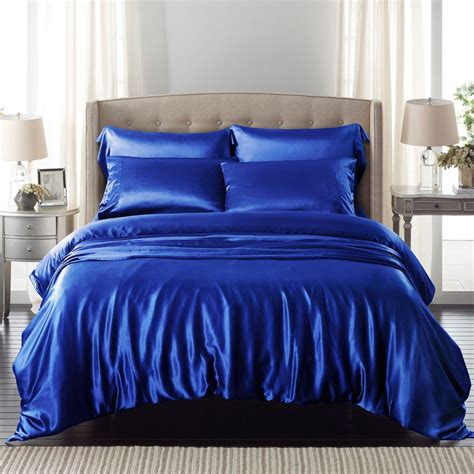 Royal Bedding Sets Royal Blue Silk Bed Linen From The Finest Mulberry Silk