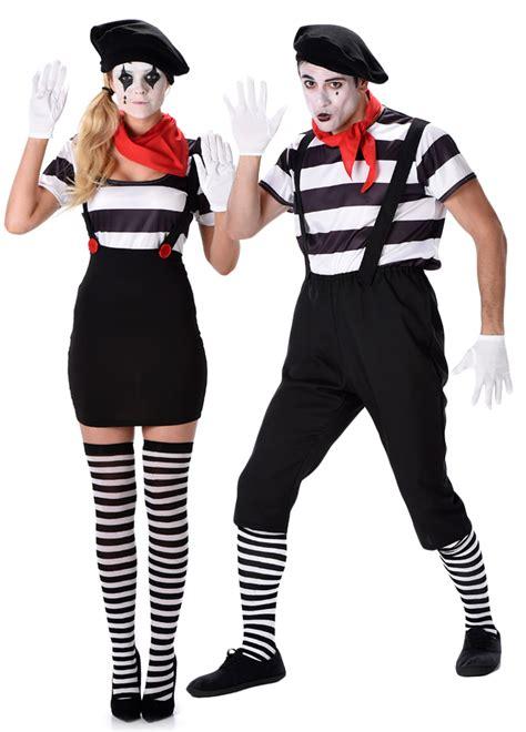 Circo Dress Untuk Anak 1 Original mime artist adults fancy dress circus mens womens carnival costume ebay