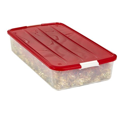 container store under bed storage holiday buckle underbed storage box the container store