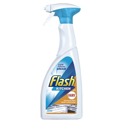 flash kitchen cleaner 450ml household cleaners b m