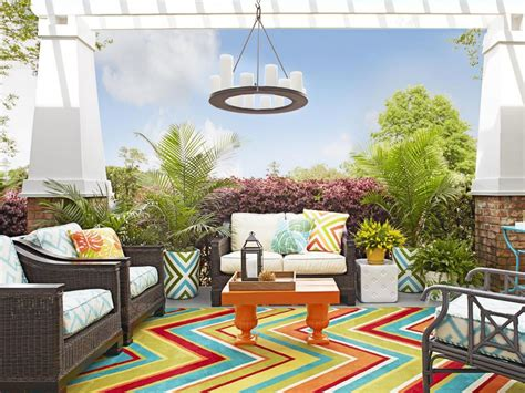 how to decorate a patio how to decorate an empty back porch hgtv