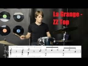 la grange drums la grange drum tutorial zz top