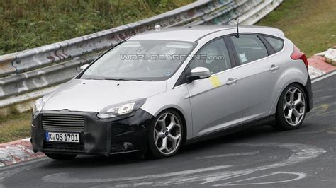ford focus facelift 2014 wann 2014 ford focus st facelift spied once again motor1
