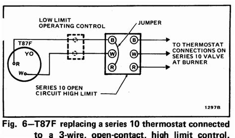honeywell rth6450 thermostat wiring diagram honeywell