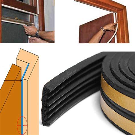 Insulation Seal Pintu Mobil 4 Meter aliexpress beli 4 pcs 20 m perekat diri e jenis pintu dan jendela busa segel kedap