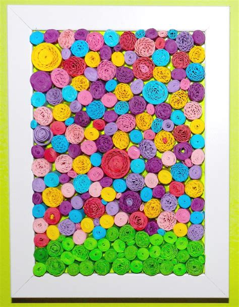 rolled paper flower pattern rolled paper flower art a little craft in your day
