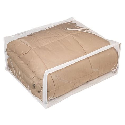bed bath and beyond bed in a bag closetware clear comforter bag bed bath beyond