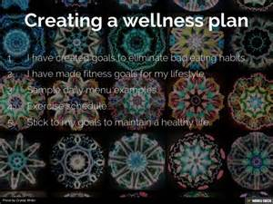Personal Wellness Plan Template by My Personal Wellness Plan