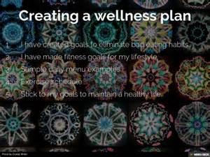 personal wellness plan template my personal wellness plan