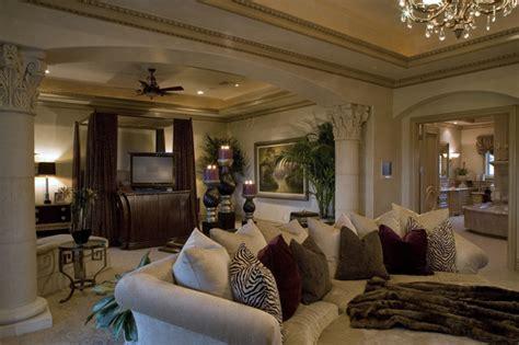 master suite mediterranean bedroom las vegas  macaluso designs