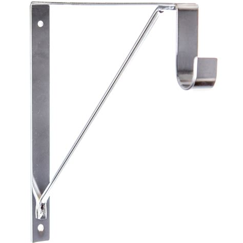 Closet Pole Brackets closet rod and shelf support bracket in closet rods and