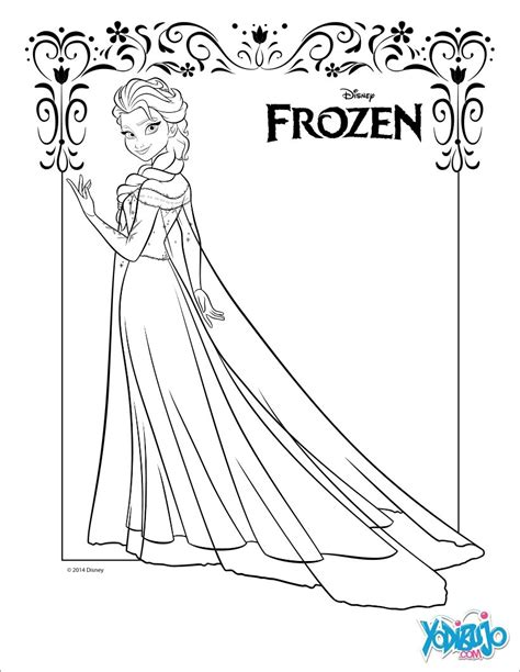 frozen coloring pages play dibujos para colorear elsa la reina de las nieves es