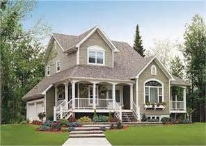 Country House Designs by 2 Story Country Homes And House Plans The Plan Collection