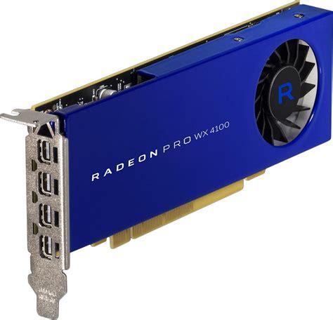 Vga Radeon Firepro Wx 5100 8 Gb amd radeon pro wx 5100 wx 4100 workstation gpus review techgage