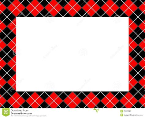pattern with frame checkered pattern frame stock vector image of colored