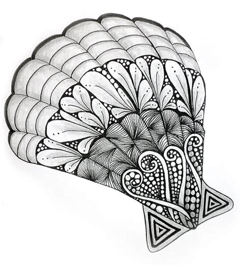 nice pattern drawing zentangle a new way to express yourself nice drawing