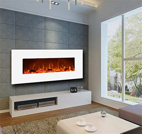 Low Profile Electric Fireplace by Touchstone Wall Mounted Electric Fireplace
