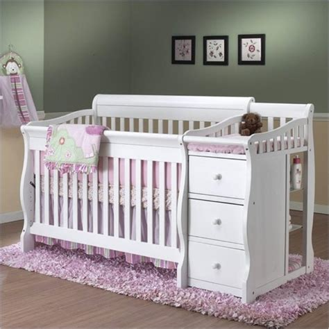 sorelle tuscany 4 in 1 convertible crib and changer combo sorelle tuscany 4 in 1 convertible fixed side crib and