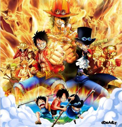 download film one piece new world luffy ace and sabo one piece one piece pinterest