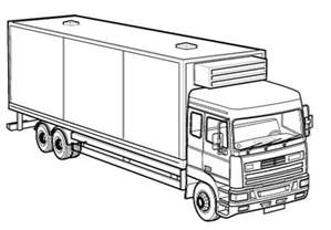 what color is a truck printable truck coloring pages coloring me