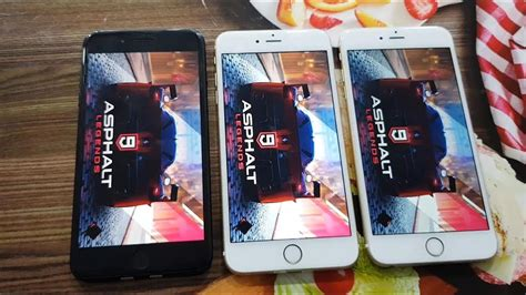 chơi asphalt 9 legend tr 234 n iphone 7 plus iphone 6s plus v 224 iphone 6 plus test hiệu năng