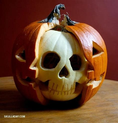 this skillfully carved jack o lantern lets you perform