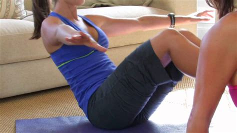 working  core     sit abdominal exercises